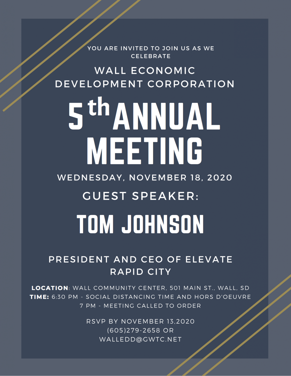 5th annual meeting flyer